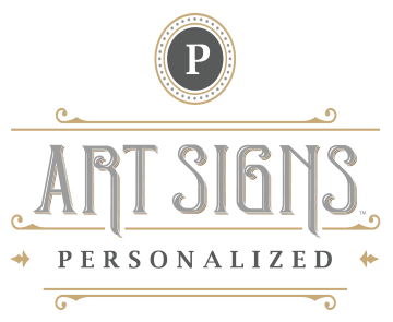 Personalized Art Signs™